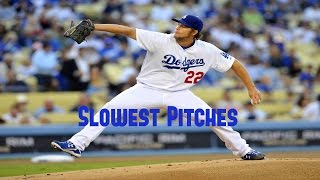 MLB: Slowest Pitches Ever HD