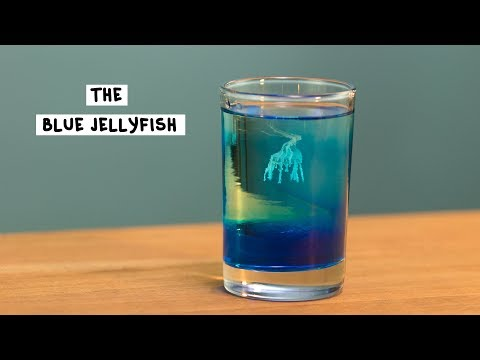 The Blue Jellyfish - Tipsy Bartender