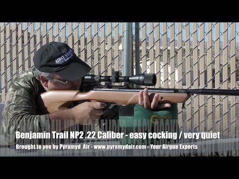 Benjamin Trail NP2  22 Airgun Review by AirgunWeb - YouTube