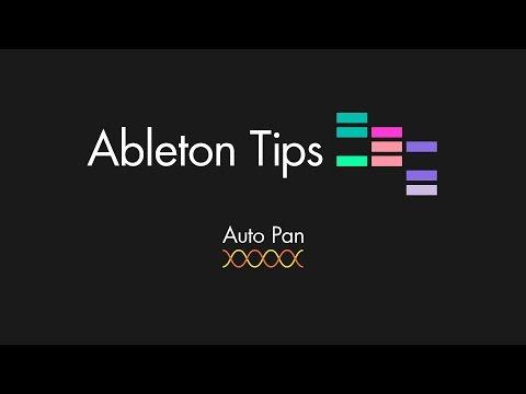 Ableton Tips - Auto Pan Tutorial en Español
