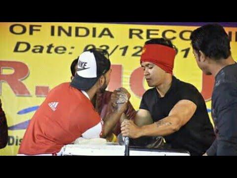 Arm wrestling competition 2017(Lumding). Tonmoy kashyap