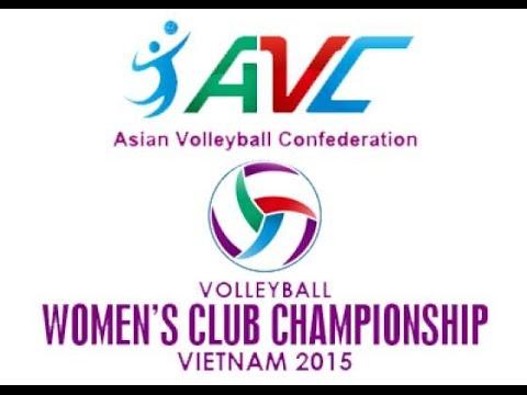 [Quarter Final]Thong Tin Lien Viet  vs  Zhejiang : Asian Women's Club Volleyball Championship 2015