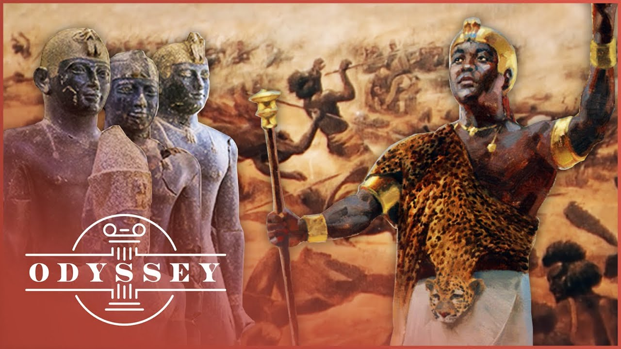 Who Were The Black Pharaohs Of Kush? | Mystery Of The African Pharaohs | Odyssey