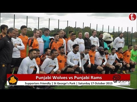 Punjabi Wolves 9-0 Punjabi Rams | Supporters' Charity Match Highlights
