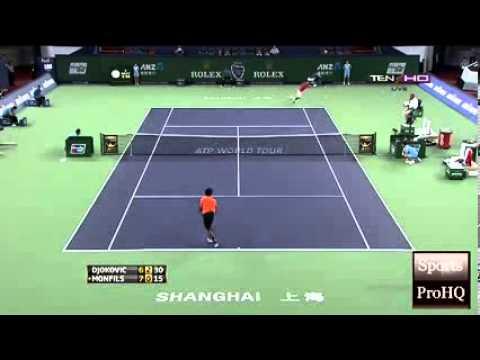 ATP Shanghai Rolex Masters 2013 ~  Quarterfinals   Full Highlights  Novak Djokovic Vs Gael Monfils