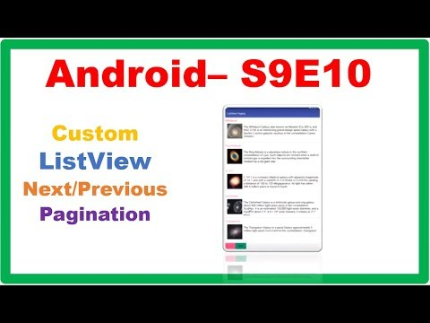 Android ListView → Android Custom ListView Pagination Next