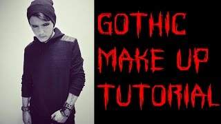 Gothic Makeup Tutorial For Men and Women