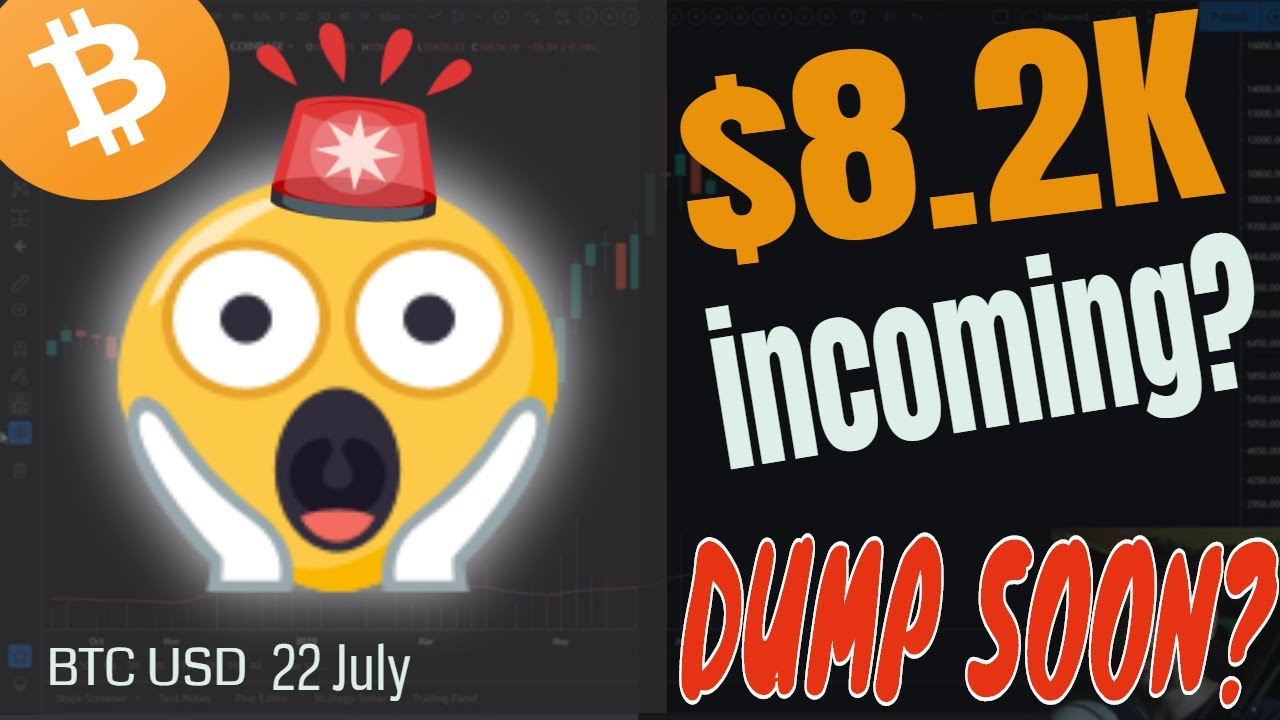 8.2K Bitcoin?? NEW WEEK, NEW TARGETS! Bitcoin Price Analysis Forecast Prediction 22 July 2019