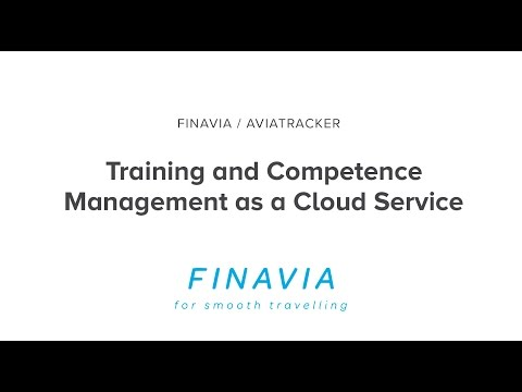 Training and Competence Management as a Cloud Service – Finavia Aviatracker