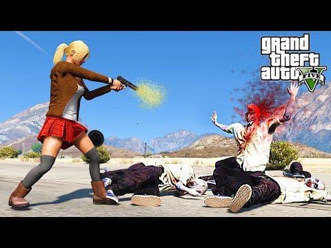 GTA 5 Zombie Apocalypse Mod #3 - SECRET NAVAL SURVIVAL BASE  !!! (GTA 5 Mods)