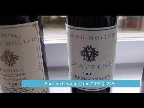 Barbera d'Alba, Barbera Legattere & Vigna Conca – Provning