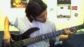 In the Desert of Set - Therion Bass Cover