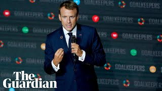 Emmanuel Macron: 'Teaching Africans from New York? Bull!'