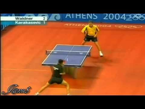 2004 Olympics (ms-r32) WALDNER Jan Ove - KARAKASEVIC Aleksandar [Full*/Short form]
