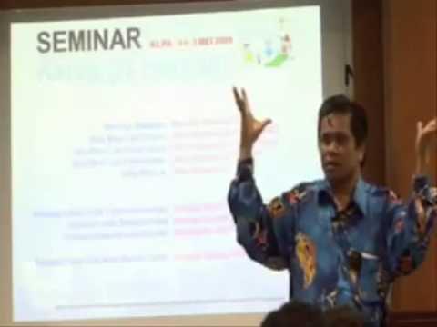 Seminar tentang lelaki & perempuan paling lawak!