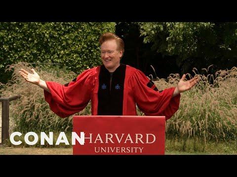 Conan Addresses The Harvard Class Of 2020