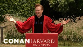 Conan Addresses The Harvard Class Of 2020