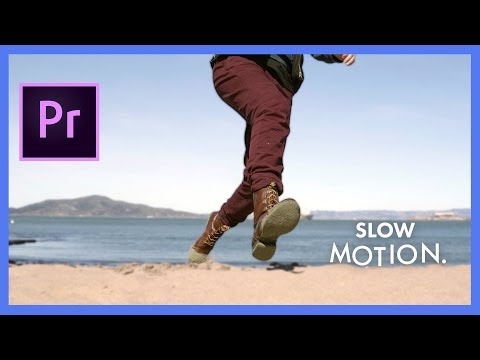 Slow Motion, Speed Ramp And Freeze Frames | Adobe Premiere Pro CC Tutorial