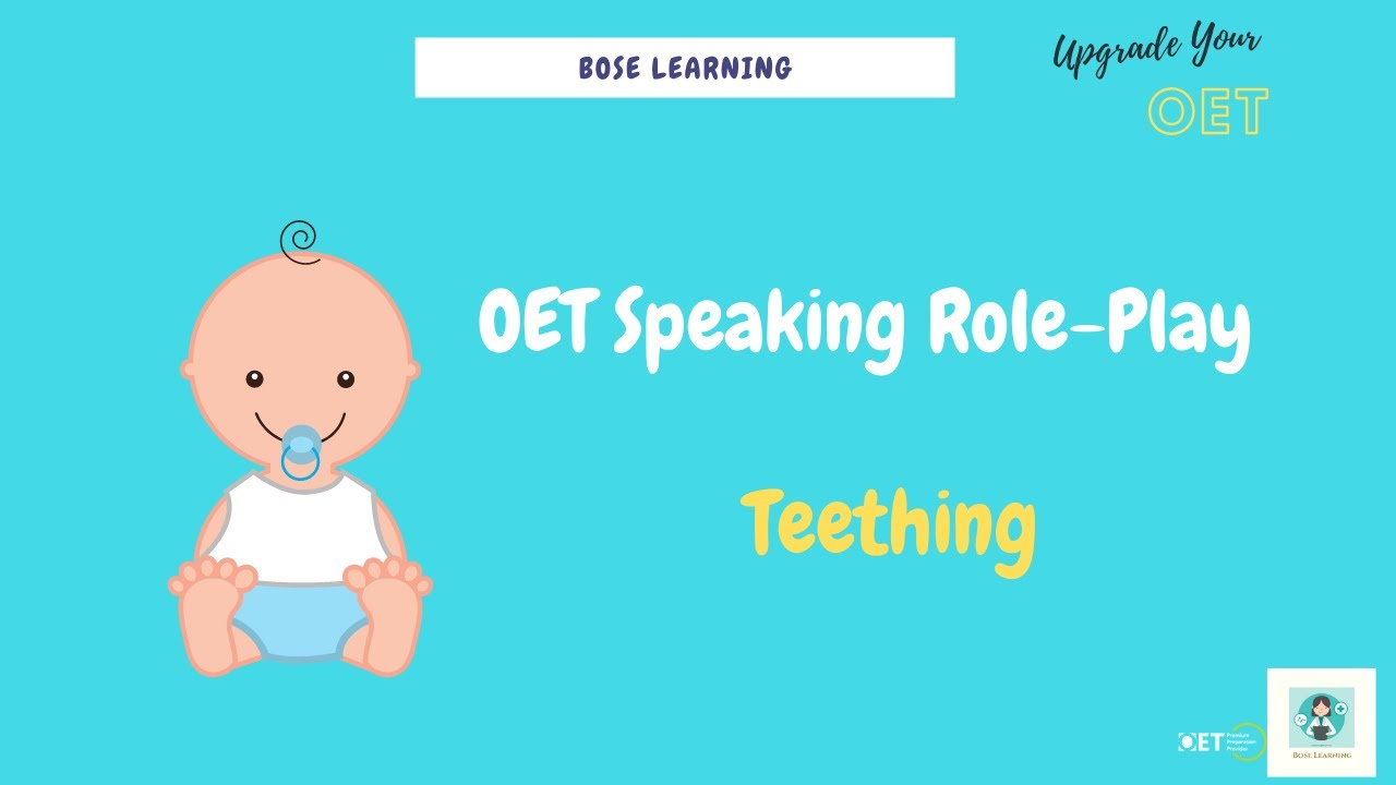 OET Vocabulary Quiz 34 & OET Speaking Role-Play