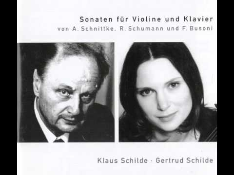 Klaus Schilde, Gertrud Schilde: Ferrucio Busoni - Sonate Nr. 2 op. 36a e-Moll