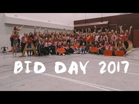 Bid Day 2017 - Alpha Phi [University of Montana]