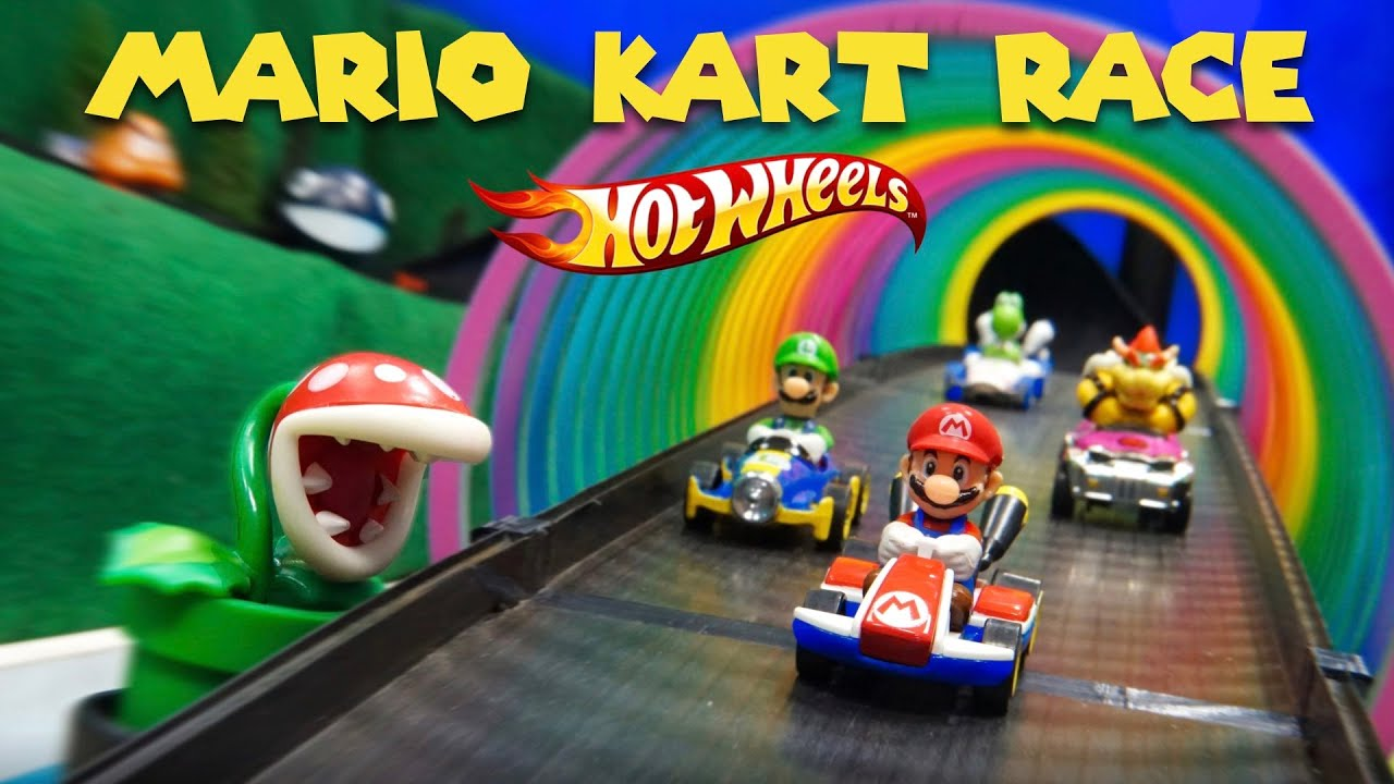 Hot Wheels Mario Kart 2019 Toy Car Race Diecast Racing Nintendo Youtube