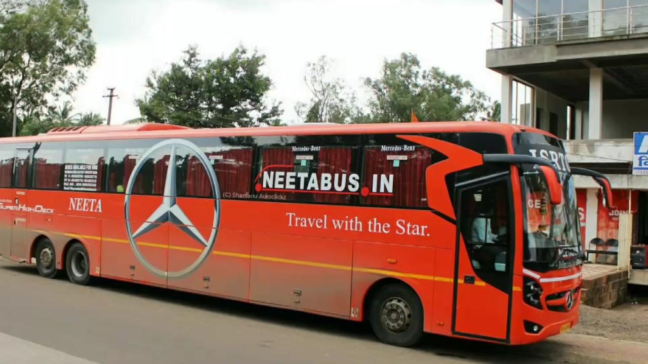 NEETA TRAVELS ISRTC MERC BENZ SUPER HIGH M - YouTube