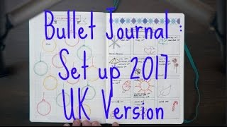 bullet journal   how i set up my bujo for 2017 uk version