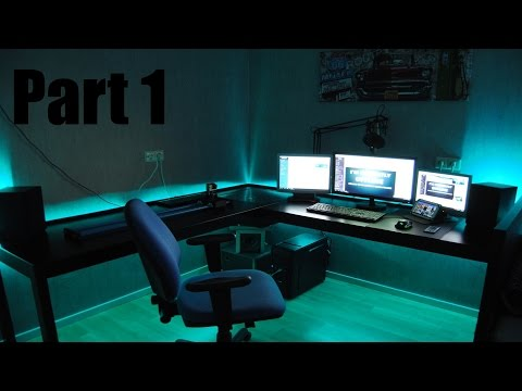 Building The ULTIMATE Gaming Setup! ( PART 1 )