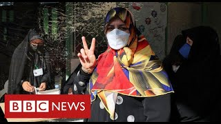 Iran votes for new President with reformists barred from standing - BBC News