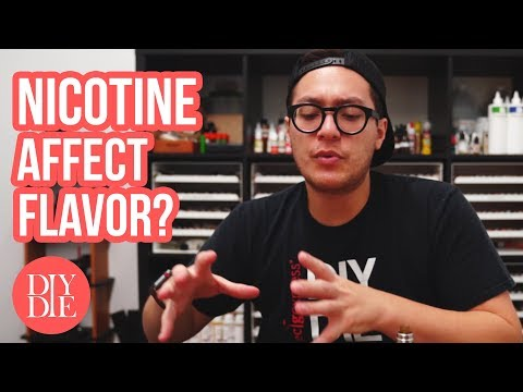 Does Nicotine Affect Flavor? [ Beginner DIY E-liquid Tips ] Mp3