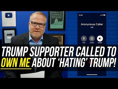 "SUPER-SMART Trump Caller LAUGHS at Me and My ""TRUMP DERANGEMENT SYNDROME!"""