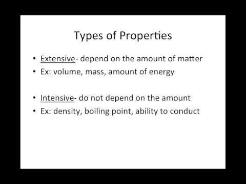 What Is an Extensive Property Is in Chemistry - ThoughtCo