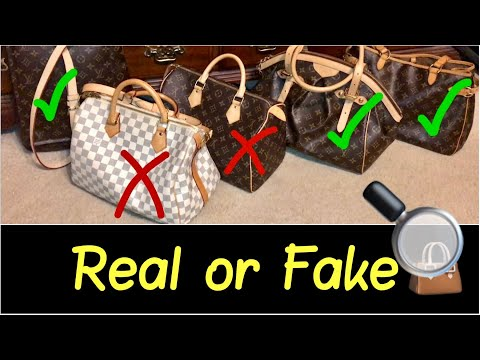 👜Buying Real Louis Vuitton versus Fake Replica Louis Vuitton | My Top 3 LV Bag Tips | HD Review