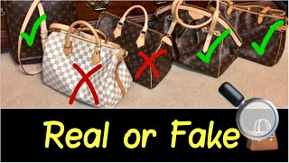 👜Buying Real Louis Vuitton versus Fake Replica Louis Vuitton | My Top 3 LV Bag Tips | HD Review
