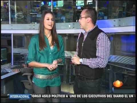 Odalys Ramirez 1N Primero Noticias 20 - YouTube