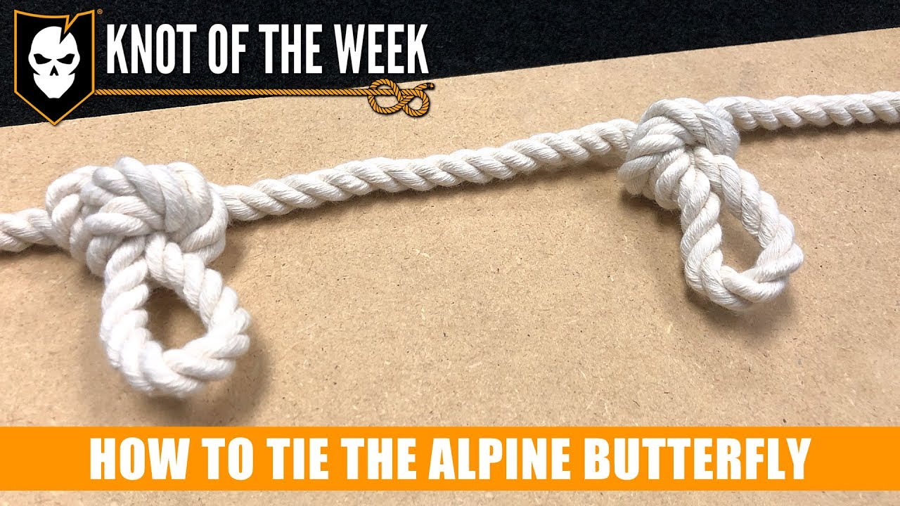 a2b76080b4614 How to Tie the Alpine Butterfly for a DIY Knot Board Display - ITS Tactical