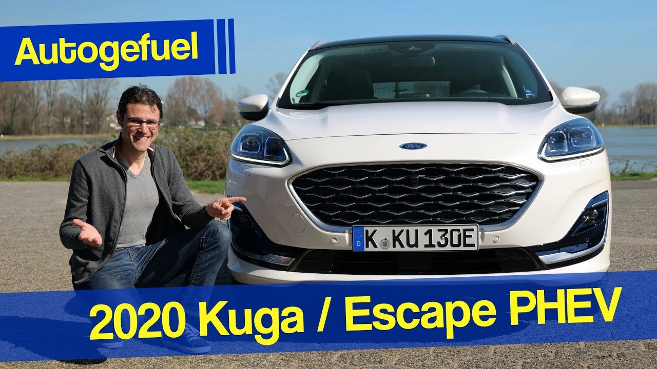 2020 Ford Kuga Ford Escape Phev Review New Generation Autogefuel