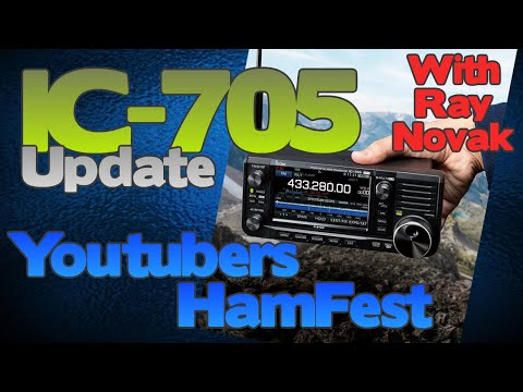 Latest On The Icom Ic-705 From Ray Novak  Rs Hamfest