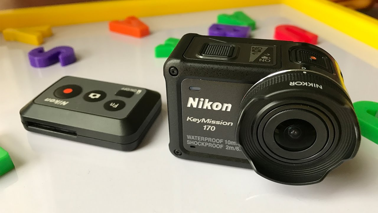 large discount popular stores in stock Nikon KeyMission 170 UNBOXING