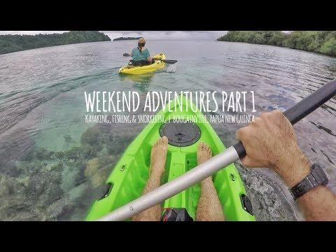 Papua New Guinea Adventures Episode 1 - Kayaking, Fishing & Snorkeling | Bougainville, PNG