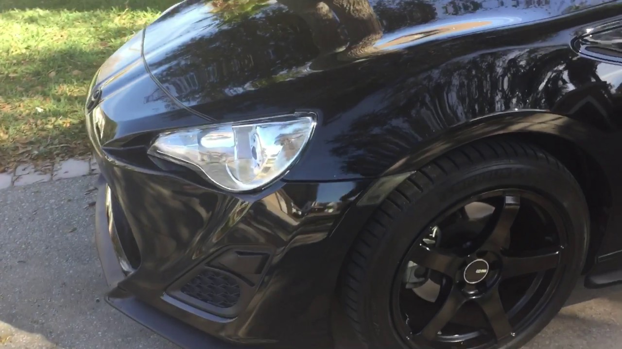Blacked Out Scion Frs Gt86 Youtube