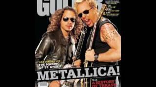 METALLICA GUITARS AND AMPS!!!