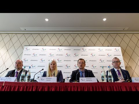 2018 IPC Russia Press Conference