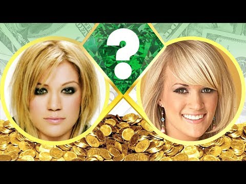 WHO'S RICHER? - Kelly Clarkson or Carrie Underwood? - Net Worth Revealed! (2017)