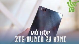 Vật Vờ - Mở hộp & đánh giá nhanh hàng độc ZTE Nubia Z9 mini