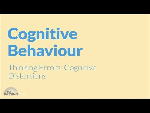 CBT Cognitive Distortions Animation