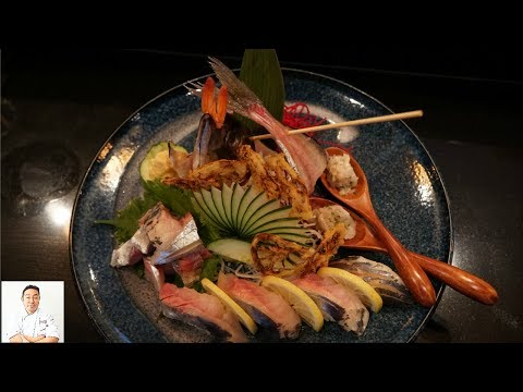 Whole Horse Mackerel: Aaron Lau - Master Sushi Chef Series