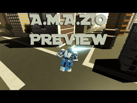 A.M.A.Z.O Moveset Preview - The Flash (Roblox - CW Industries)