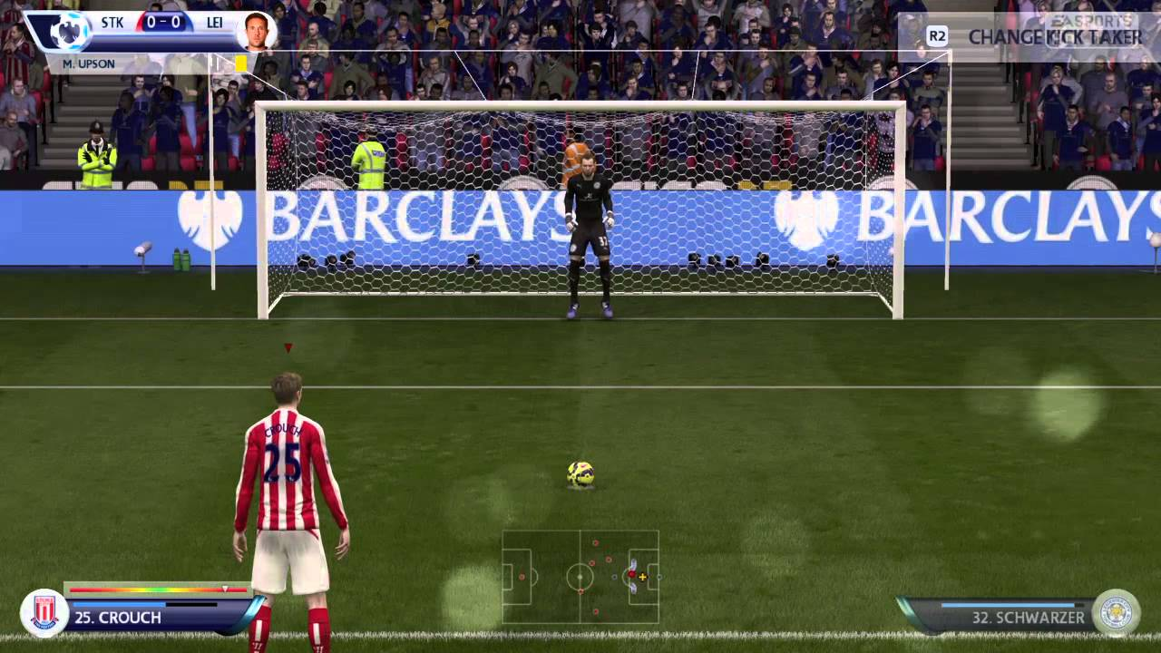 Stoke City X Leicester City Ps Fifa